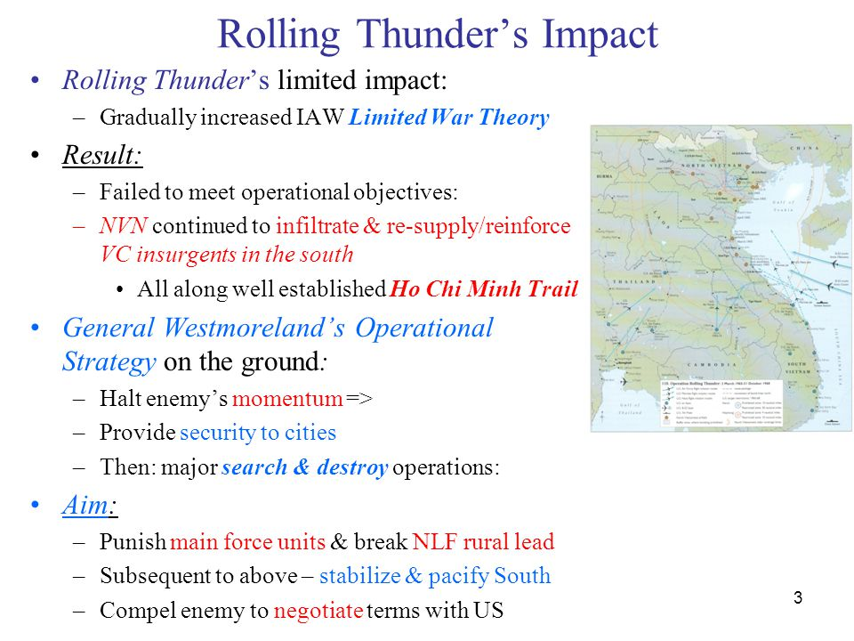 Rolling Thunder's Impact