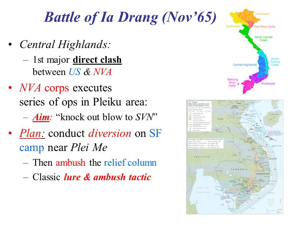 Battle of Ia Drang (Nov'65)