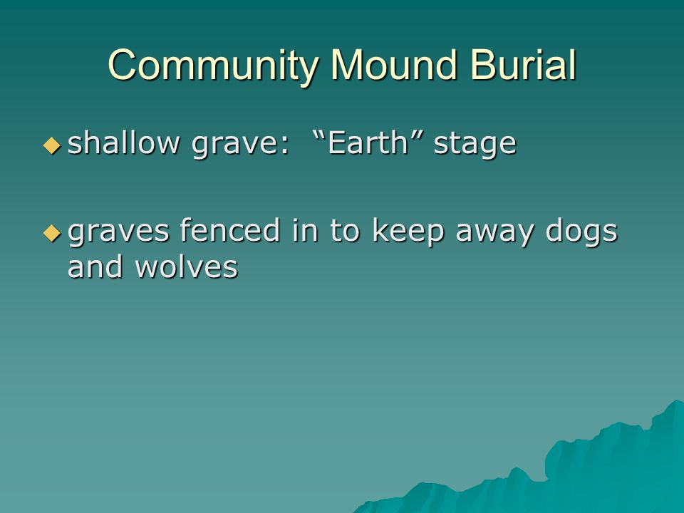 Community Mound Burial