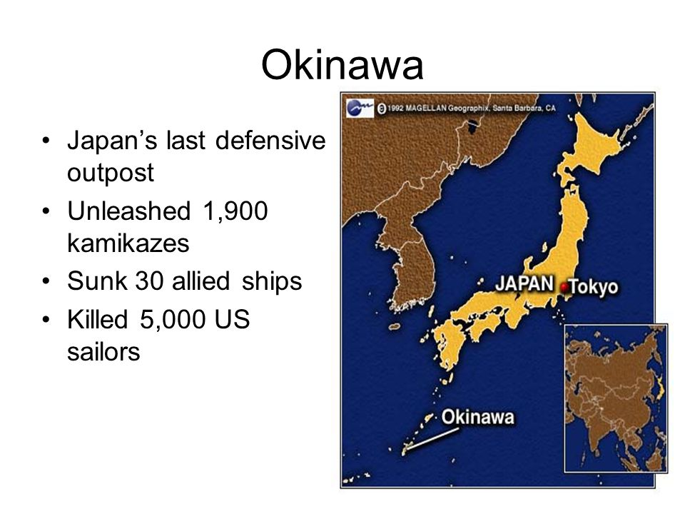 Okinawa Japan's last defensive outpost Unleashed 1,900 kamikazes