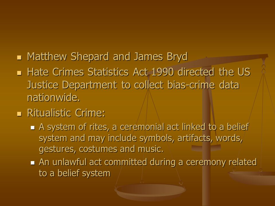 Matthew Shepard and James Bryd