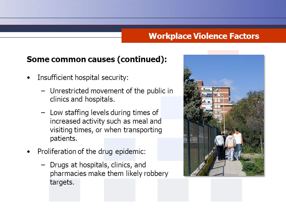 Workplace Violence Factors