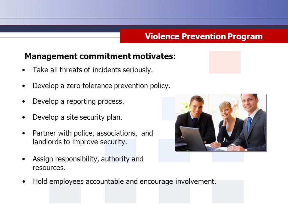 Violence Prevention Program