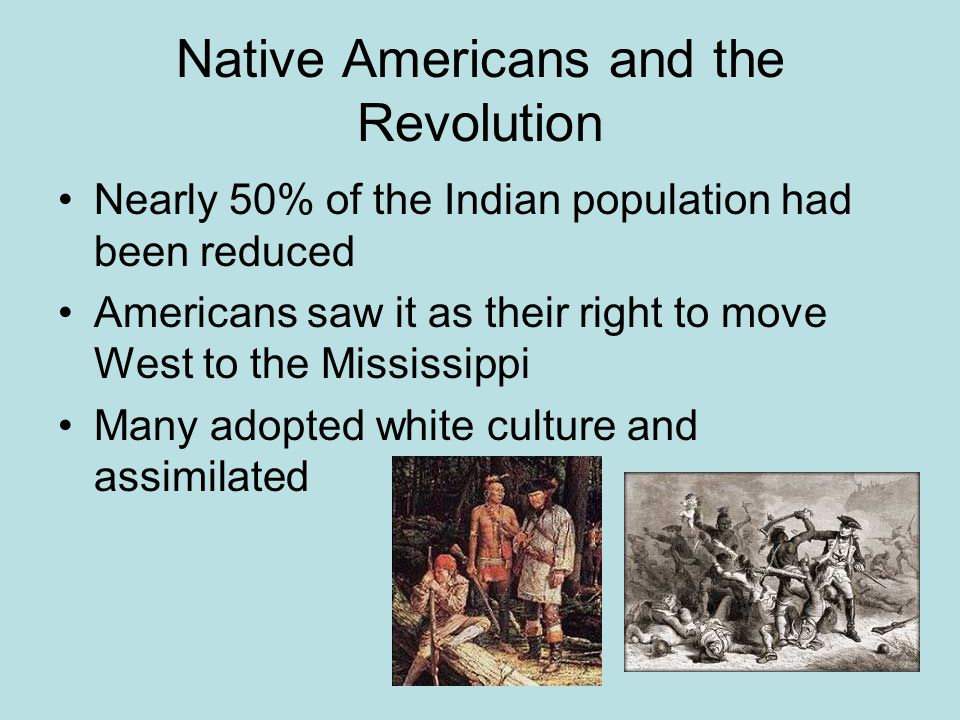 Native Americans and the Revolution