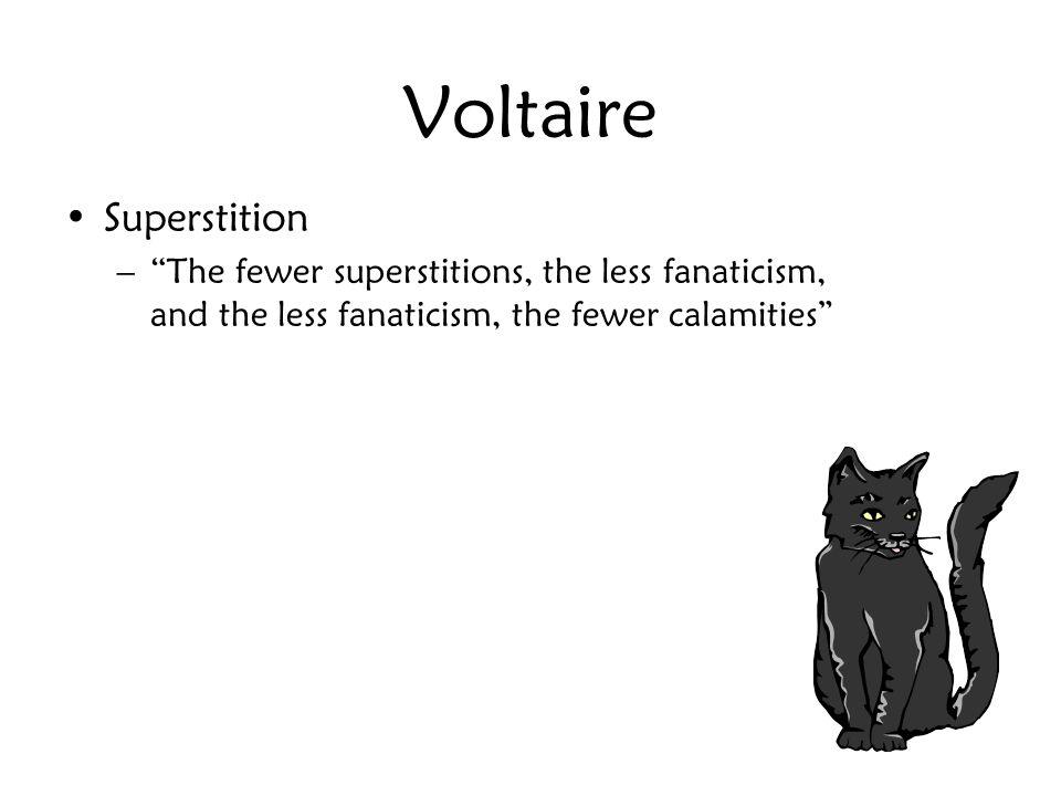 Voltaire Superstition