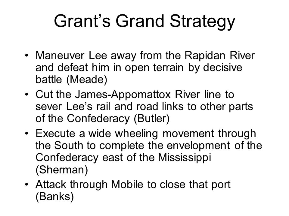 Grant's Grand Strategy