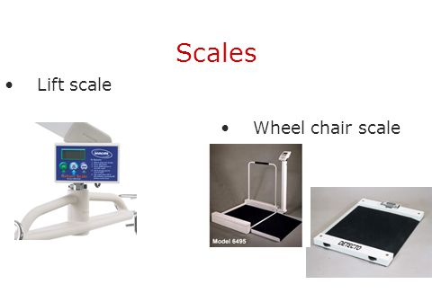 Scales Lift scale Wheel chair scale