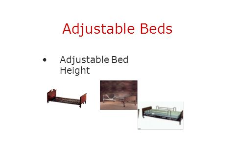 Adjustable Beds Adjustable Bed Height