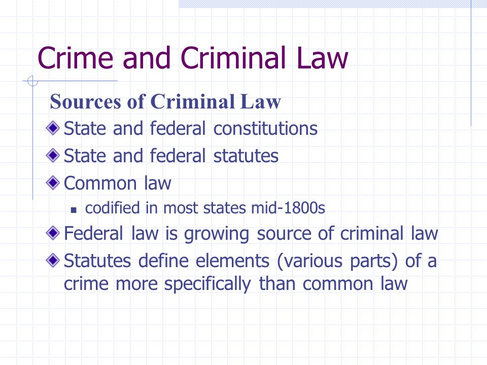 criminal lawjustics sources The international journal of law, crime and justice is an international and fully peer reviewed journal which welcomes high quality, theoretically.