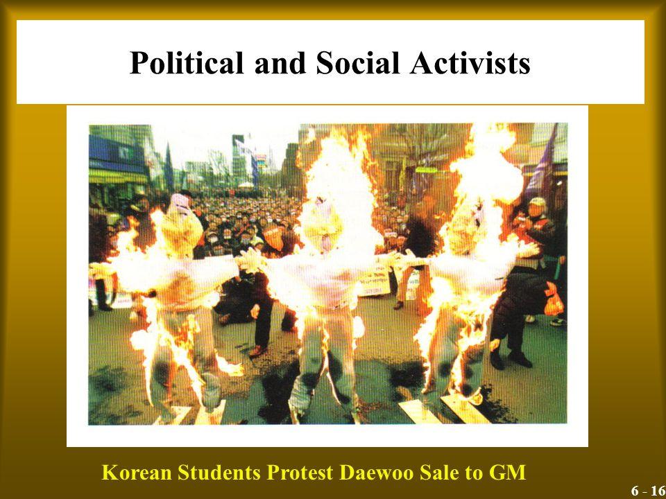 Political and Social Activists