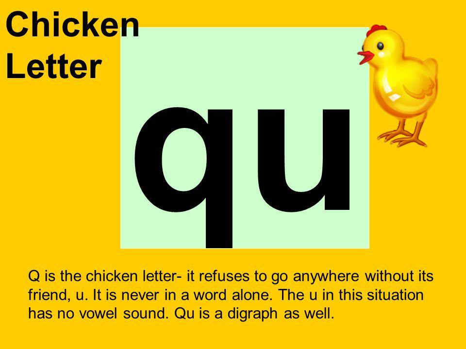 Chicken Letter qu.