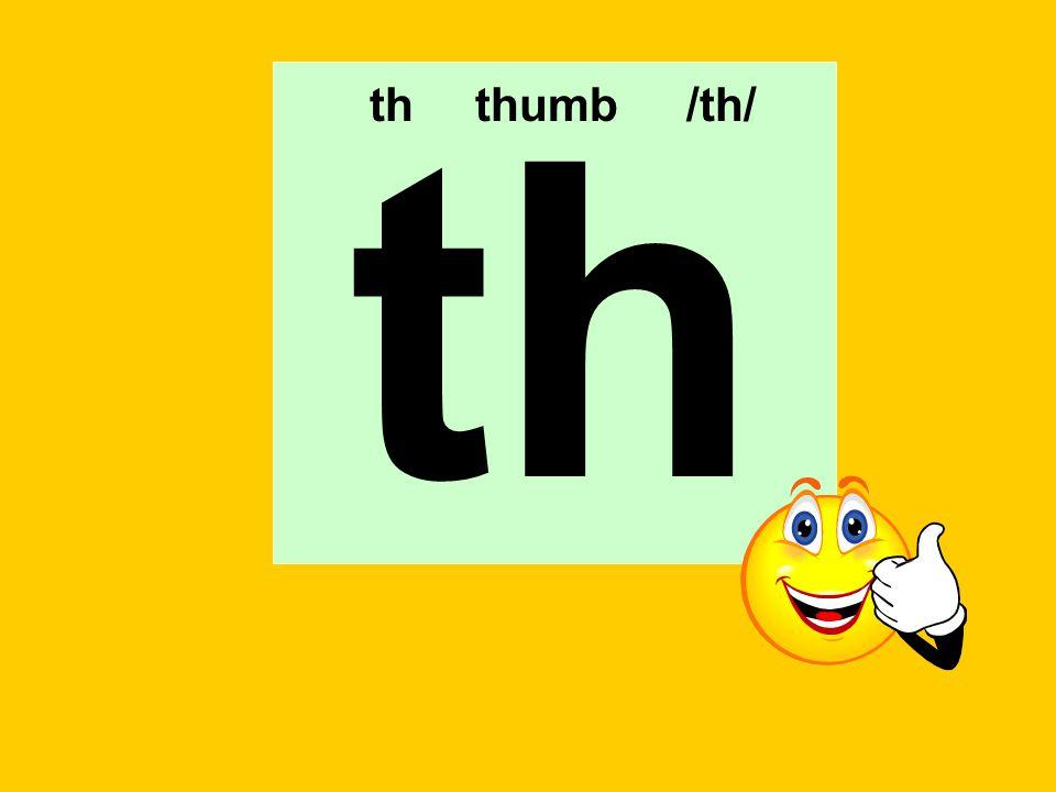 th th thumb /th/