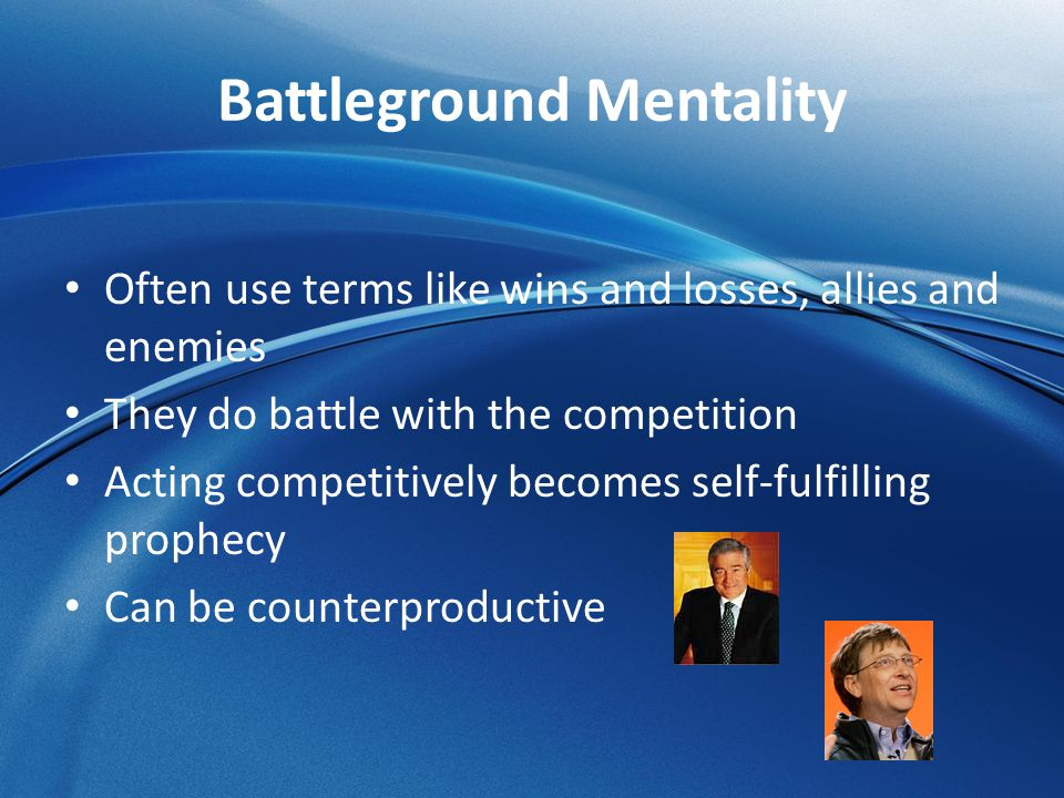 Battleground Mentality