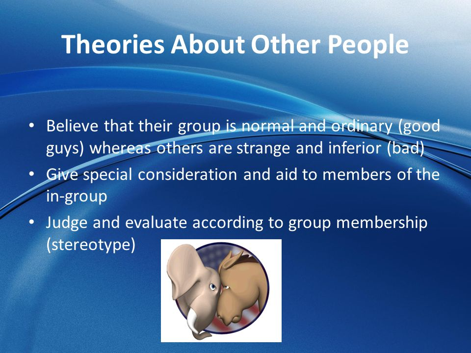 Theories About Other People