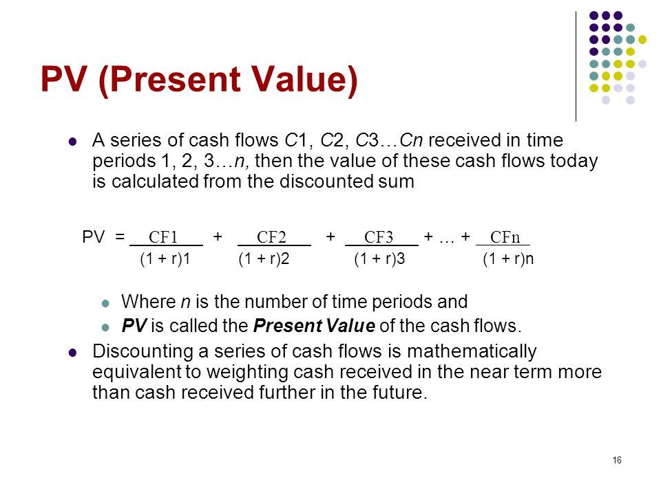 PV (Present Value)