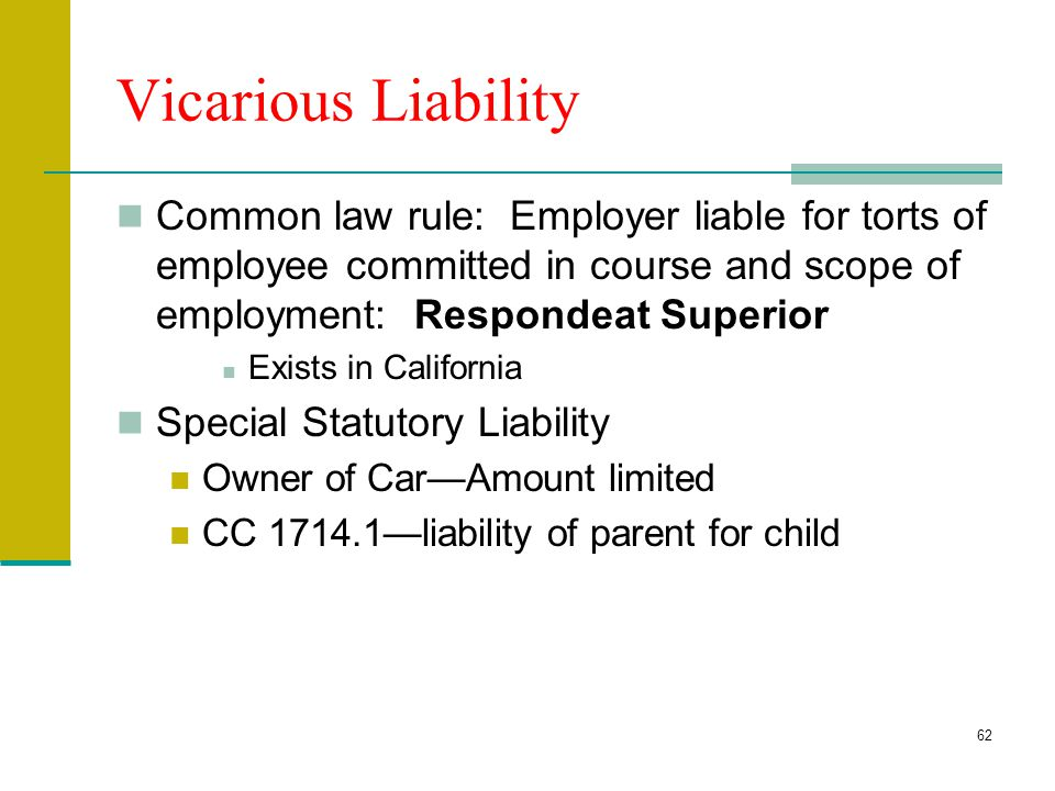 Employer liability employees dating california