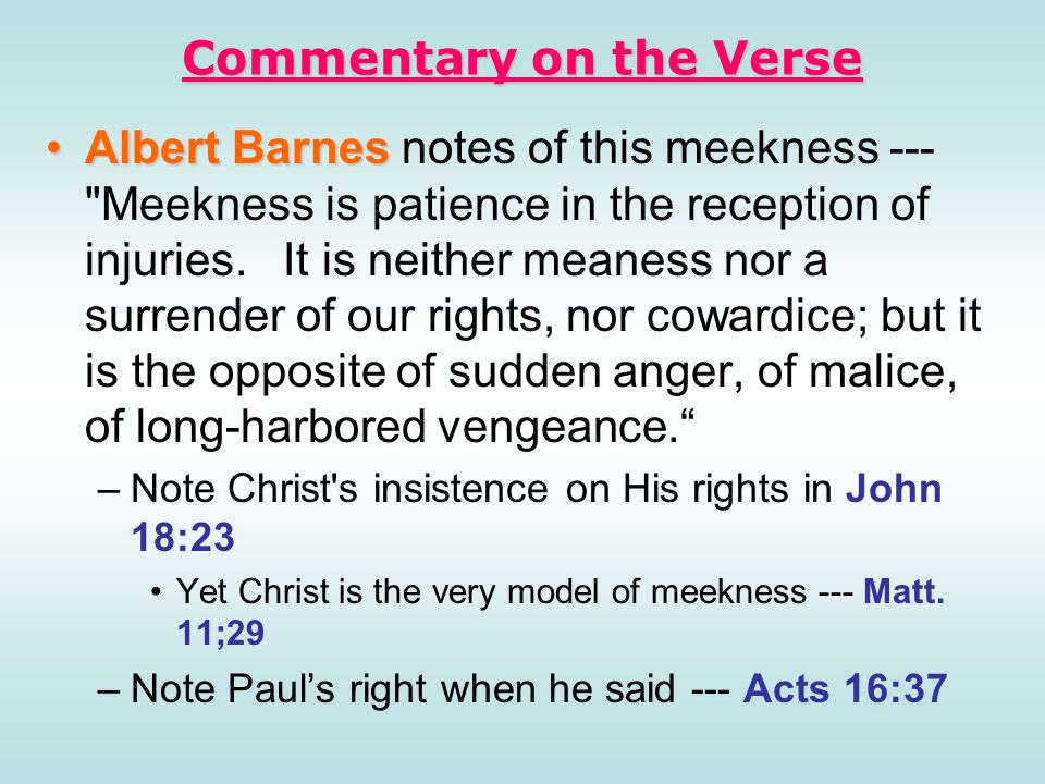 Commentary on the Verse