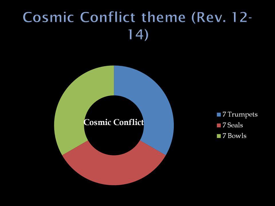 Cosmic Conflict theme (Rev. 12-14)