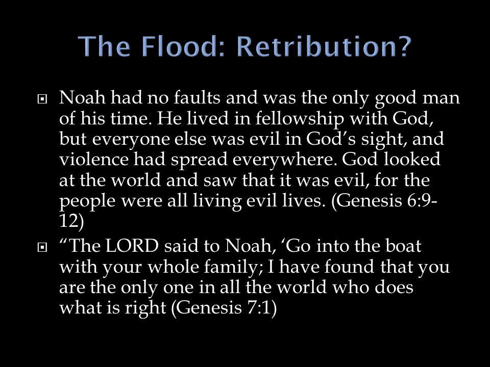 The Flood: Retribution