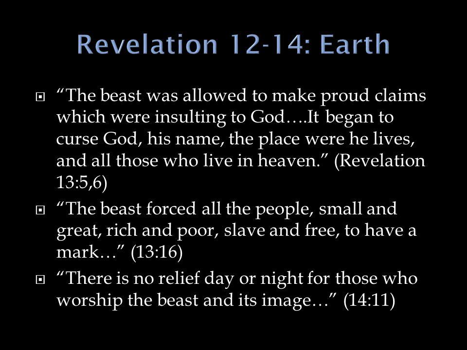 Revelation 12-14: Earth