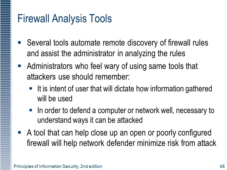 Firewall Analysis Tools