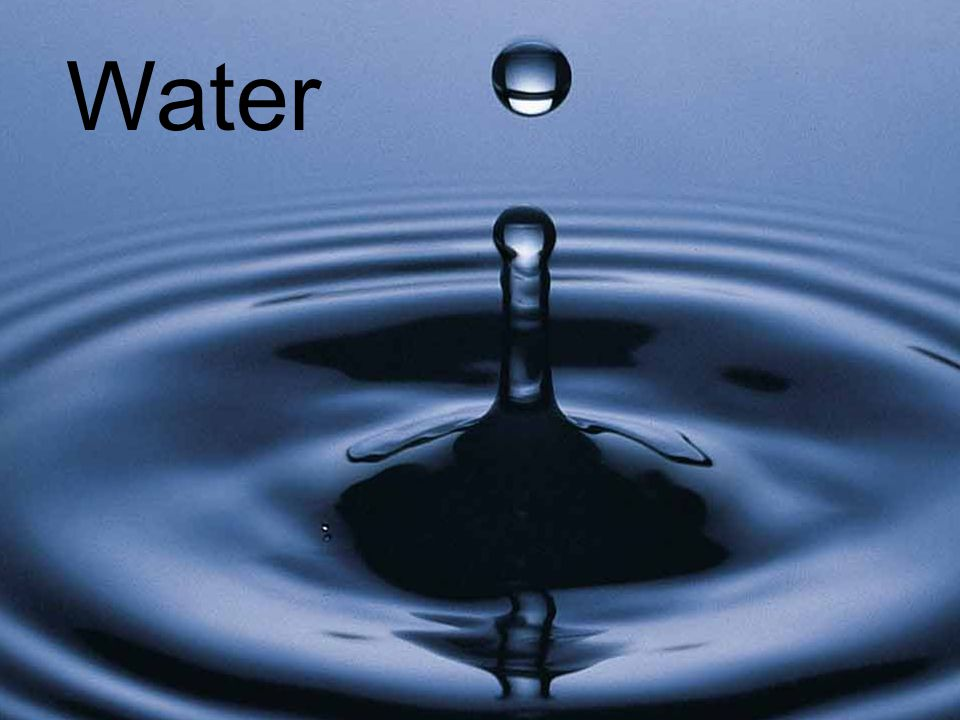 Water Chapter 14 Water