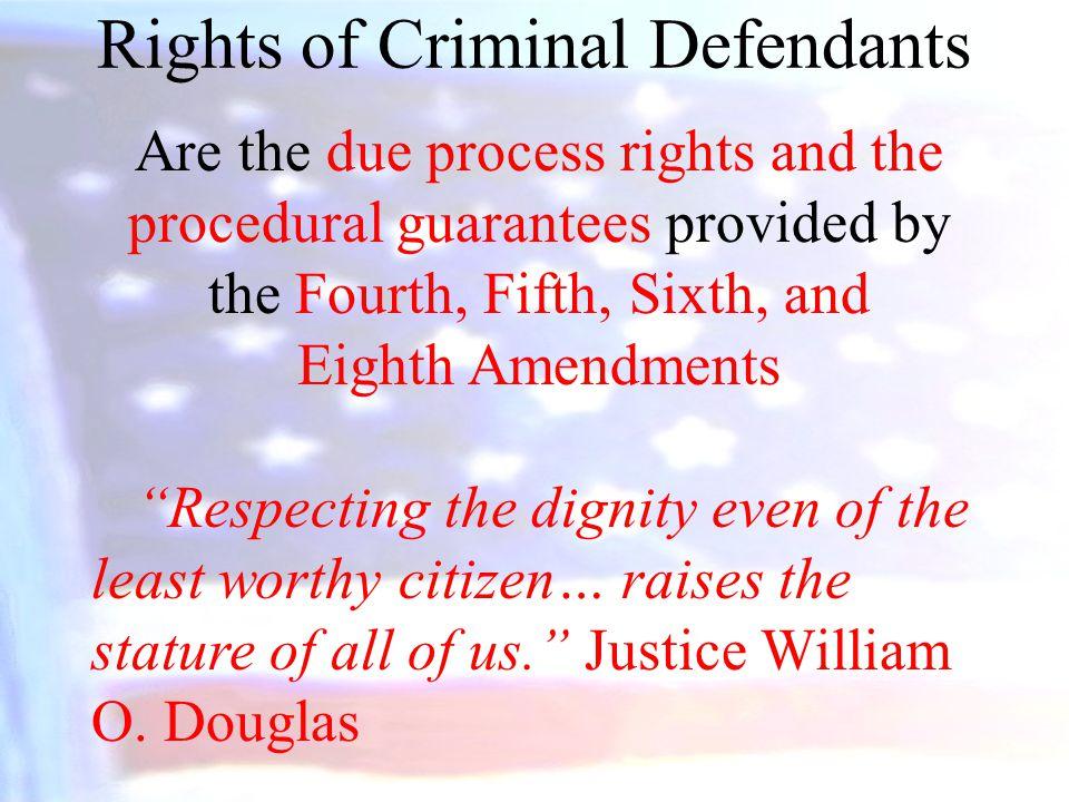Rights of Criminal Defendants