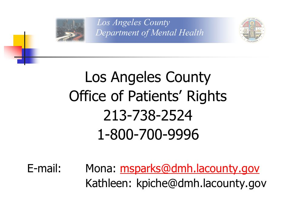 Office of Patients' Rights