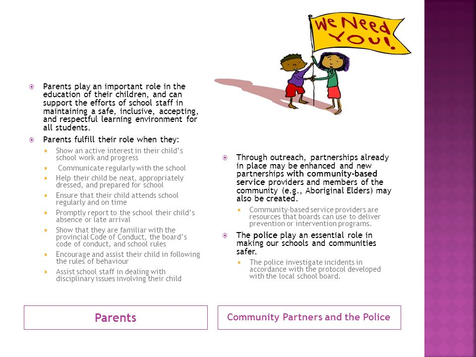 Community Partners and the Police