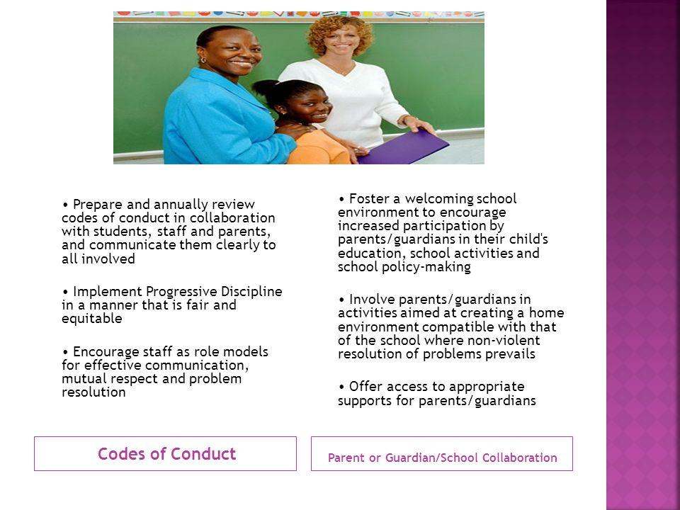Parent or Guardian/School Collaboration