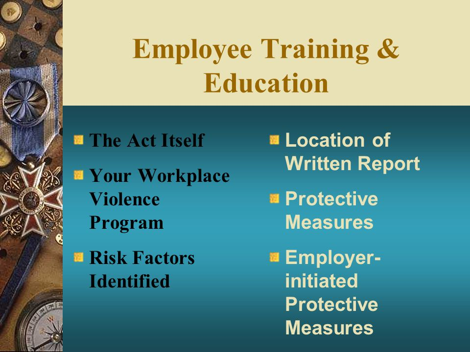 Employee Training & Education