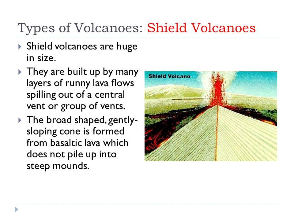Types of Volcanoes: Shield Volcanoes