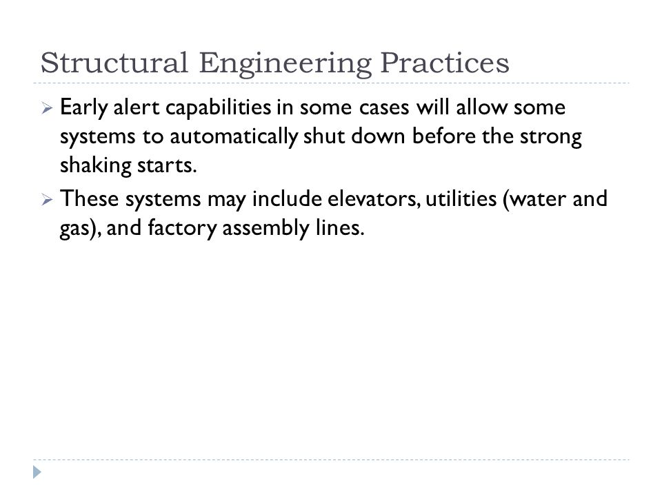Structural Engineering Practices