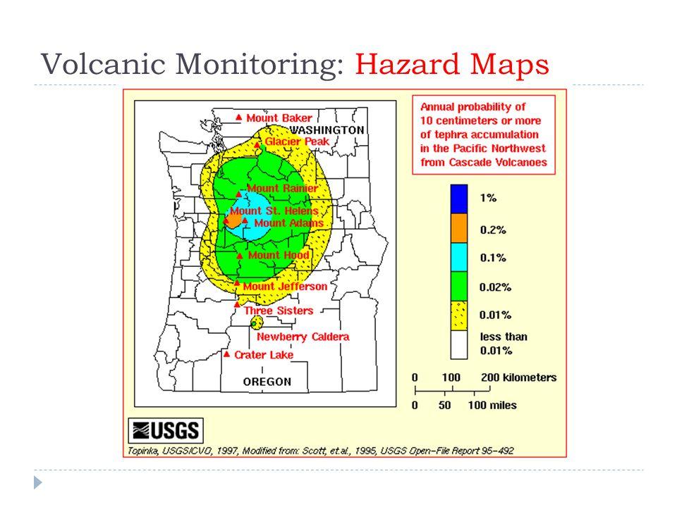 Volcanic Monitoring: Hazard Maps
