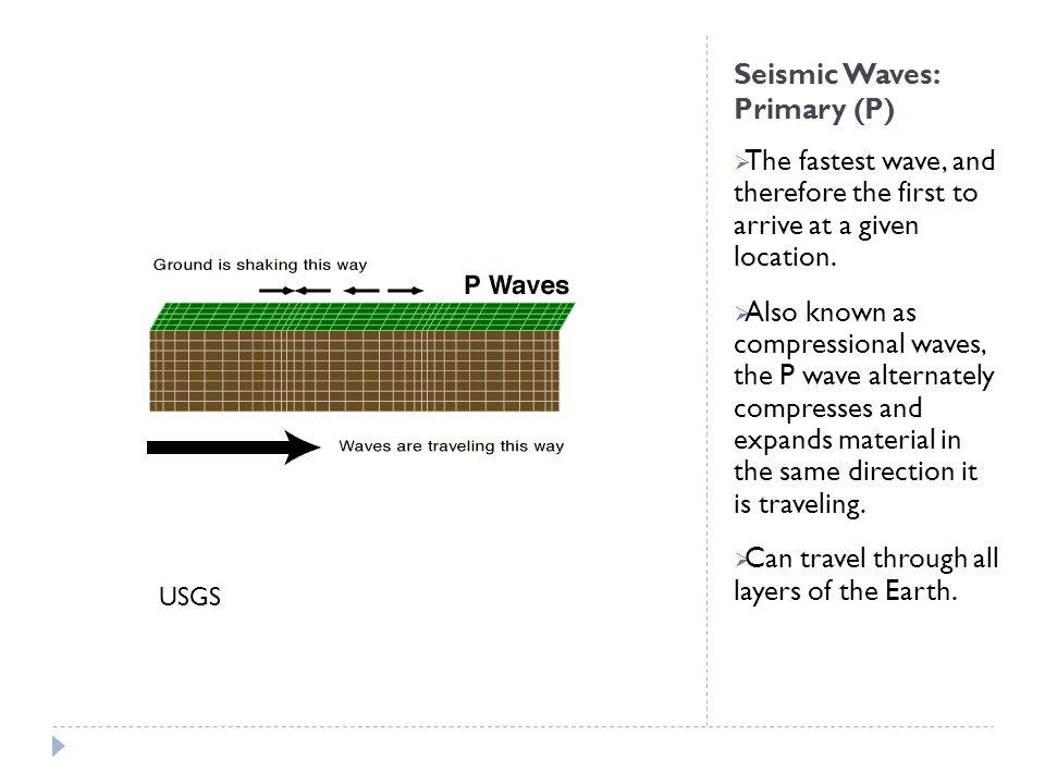 Seismic Waves: Primary (P)