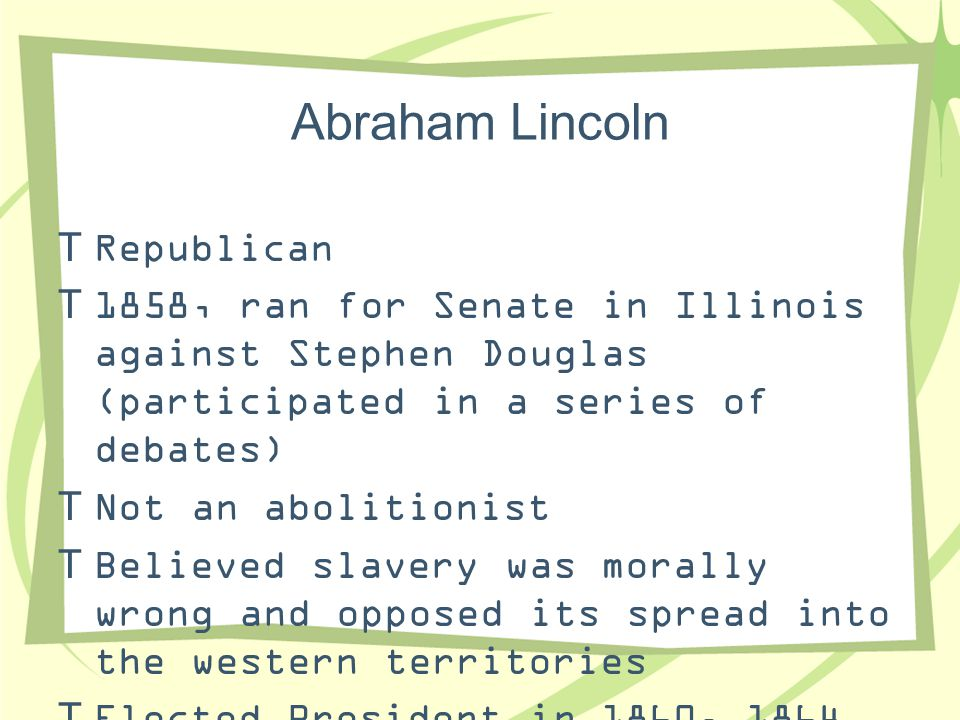 Abraham Lincoln Republican