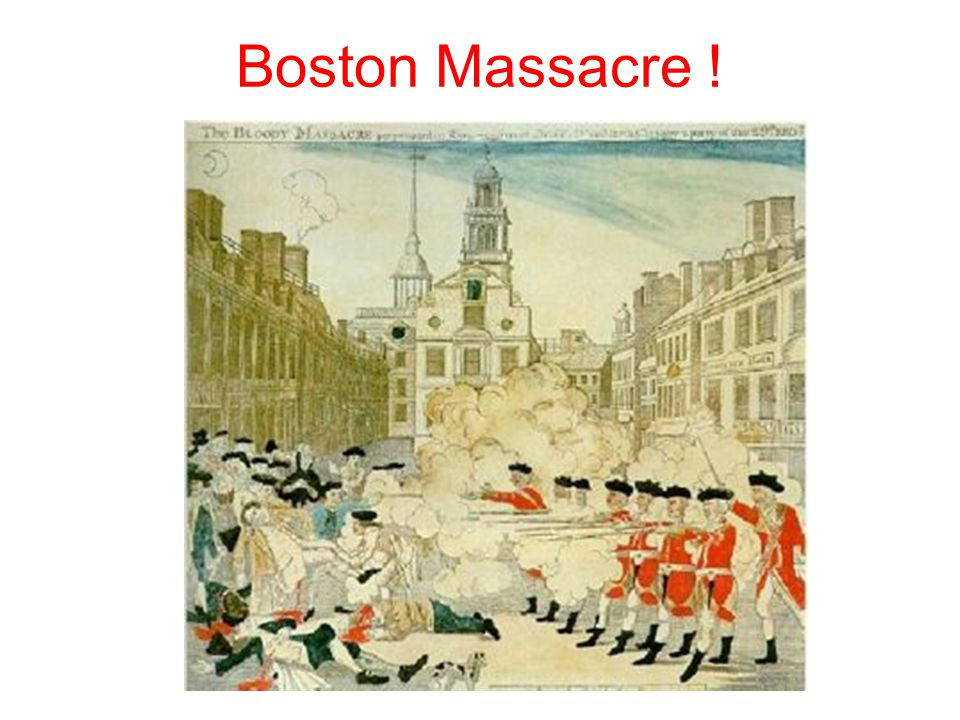 Boston Massacre !