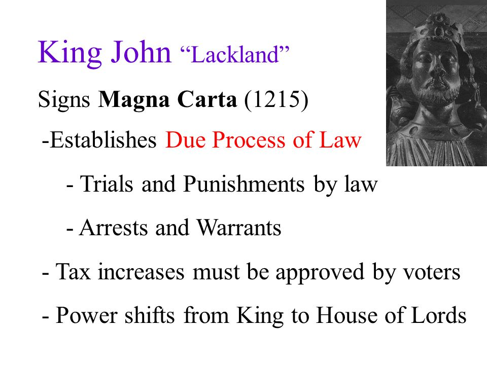 King John Lackland Signs Magna Carta (1215)