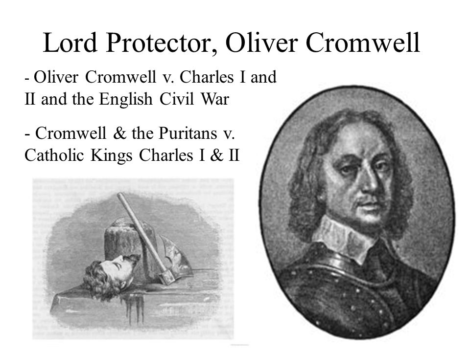 Lord Protector, Oliver Cromwell
