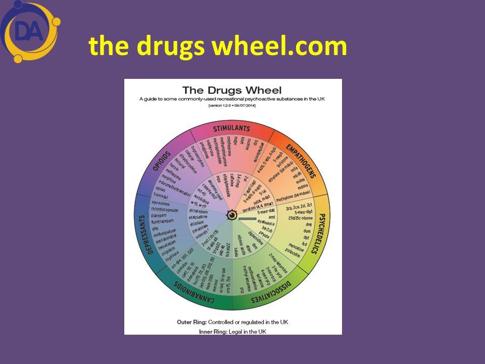 the drugs wheel.com