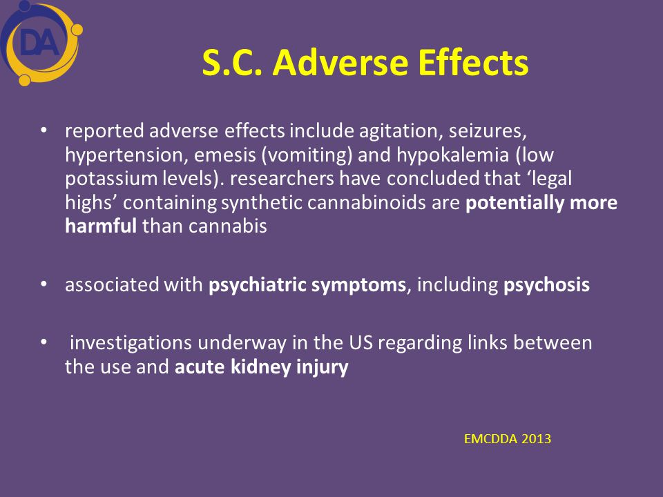 S.C. Adverse Effects
