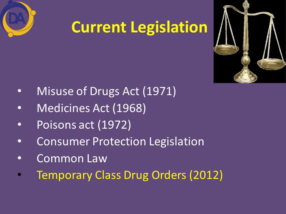 Misuse drugs act 1971
