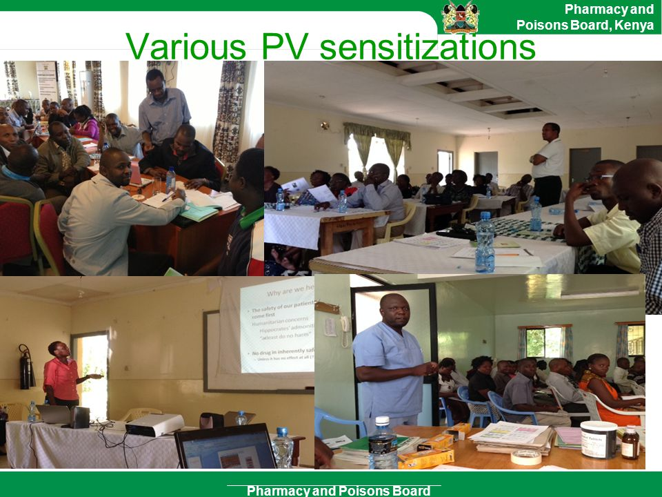 Various PV sensitizations