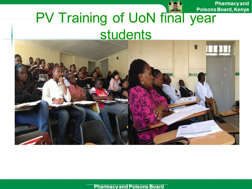 PV Training of UoN final year students