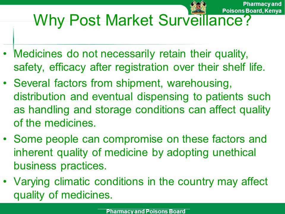 Why Post Market Surveillance