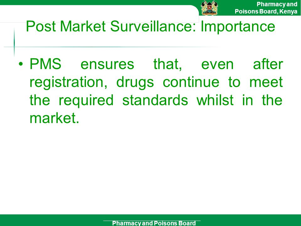 Post Market Surveillance: Importance