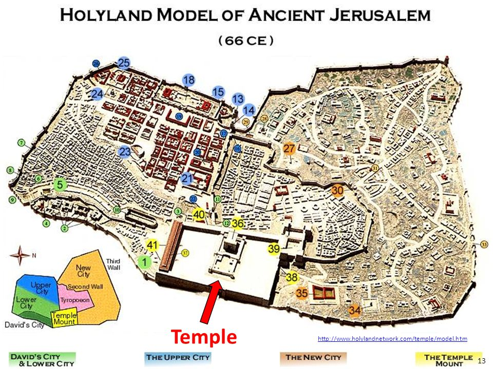 The Temple Temple cir. AD 66 Lesson 17 - John 7:14-36