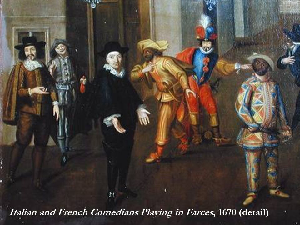 Tartuffe en302 european theatre ppt video online download for Definition de la farce