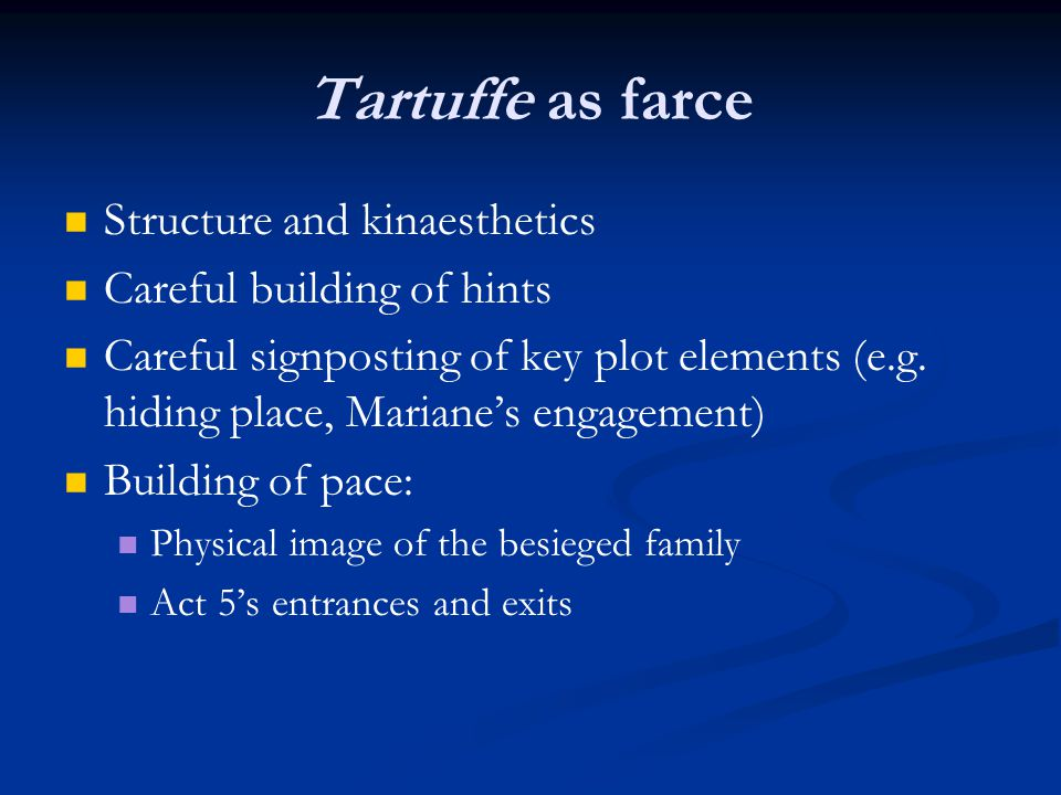 tartuffe en302 european theatre ppt video online download
