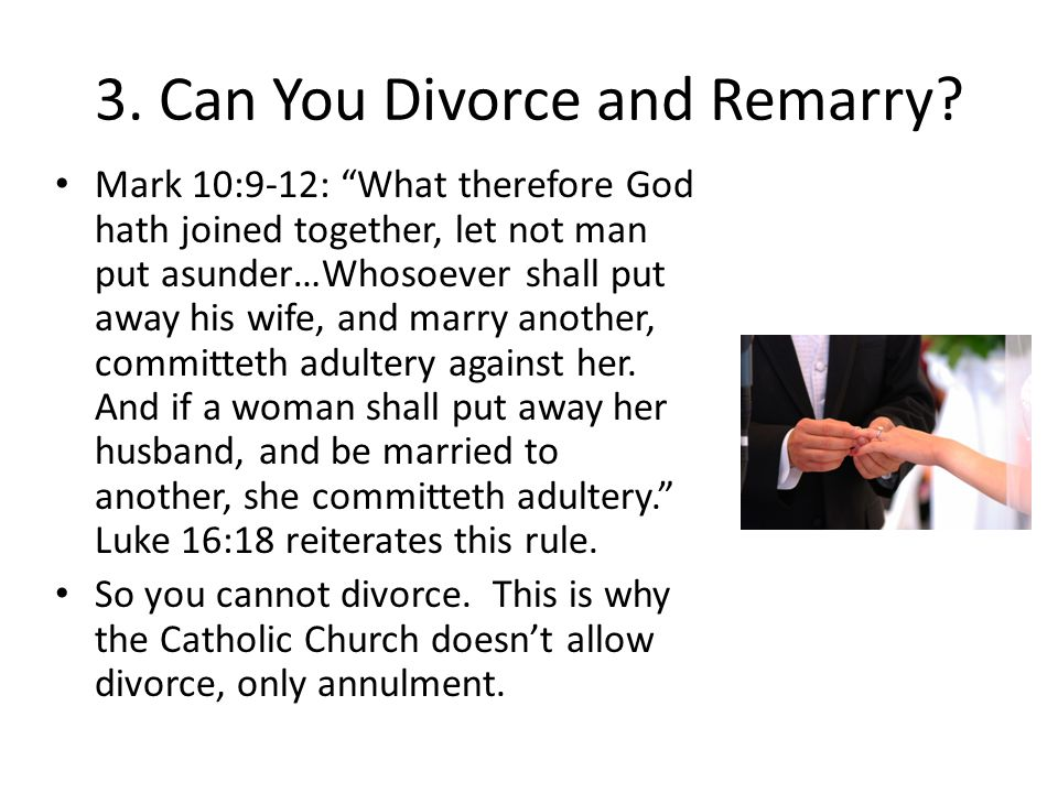 3. Can You Divorce and Remarry